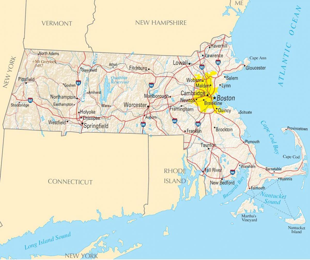 New York Long Island Map Cities